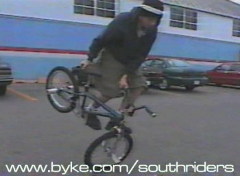 Terry Adams, circle k on the pedal