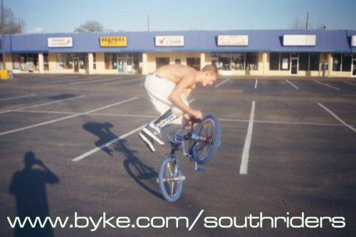 Zack Demboske, flatland rider of many styles.